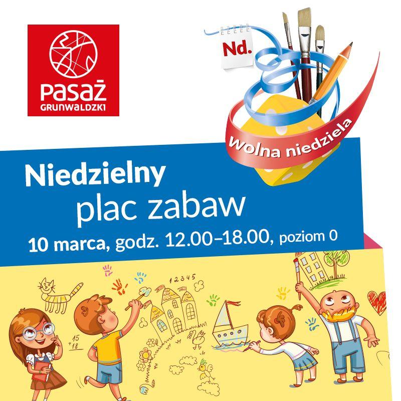 Aktywna niedziela z Pasażem Grunwaldzkim – czyli gry i zabawy dla dzieci